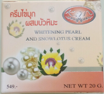 Harga Kim Whitening Pearl And Snowlotus Cream