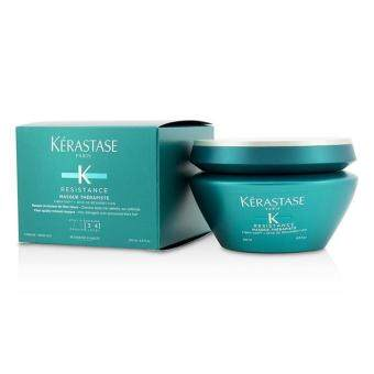 Harga Kerastase Resistance Masque Therapiste Fiber Quality Renewal Masque - For Very Damaged, Over-Processed Thick Hair (New Packaging) 200ml/6.8oz