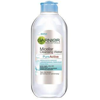 Harga Garnier Micellar Water Oil Control 400ml (blue)