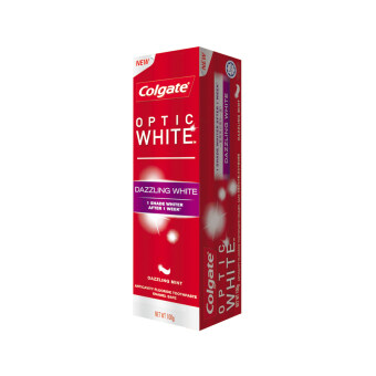 Harga COLGATE Optic White Dazzling Mint Toothpaste 100G