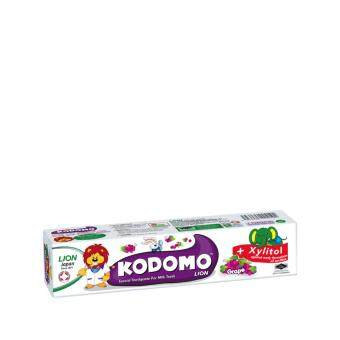 Harga KODOMO Toothpaste Grape 80g