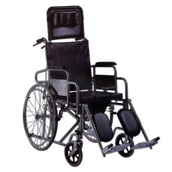 Harga Deluxe Commode Reclining Wheelchair WC607