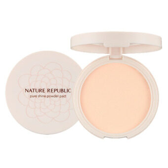 Harga Nature republic Pure Shine powder pact 23 Natural Beige