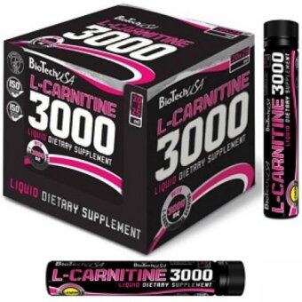 Harga BiotechUSA Fat Burner L-Carnitine 3000 Orange 1 box (20 bottle)