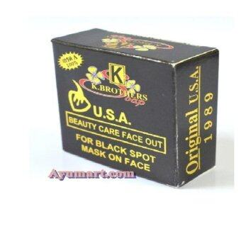 Harga K Brothers Black Soap Beauty Care Face Out (3pcs)