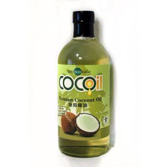 Harga Titi Eco Farm Premium Coconut Oil 460ML
