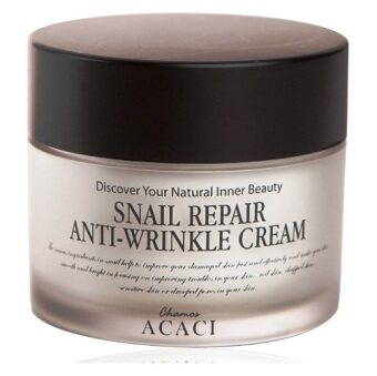 Harga CHAMOS ACACI SNAIL REPAIR ANTI WRINKLE CREAM (50G)