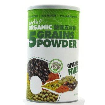 Harga Earth Organic 5 Grains Powder 500g