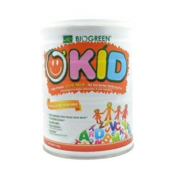 Harga Biogreen O'Kid High Protein Soya Milk 700g