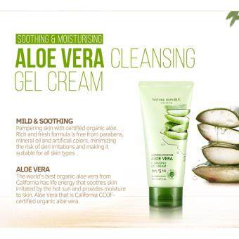 Harga Aloe Vera Cleansing Gel Cream