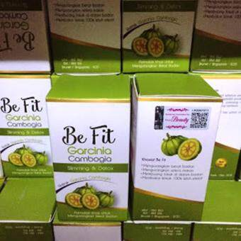 Harga ORIGINAL~2 PCS Be Fit Garcinia Cambogia ( 30 KAPSUL)