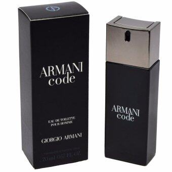 Harga Armani Code by Giorgio Armani EDT 20ml [ Spray Perfume Miniature ]