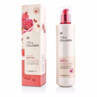 Harga The face shop Pomegranate Collagen Volume Lifting Toner