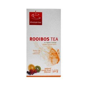 Harga Khoisan Natural Rooibos Tea with Multi-Fruit Flavour 50g