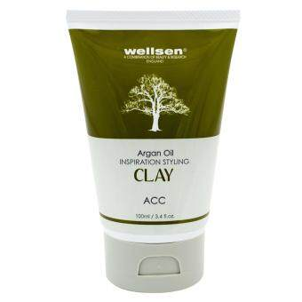 Harga Wellsen Argan Oil Inspiration Styling Clay 100ml