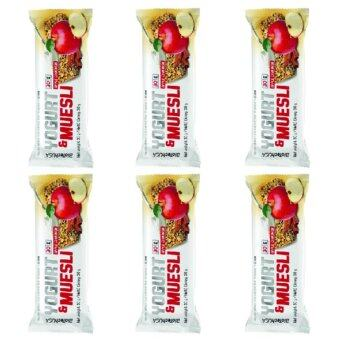 Harga BiotechUSA Energy Bar Yogurt Muesli, 30g, 6 bar (Apple-cinnamon)
