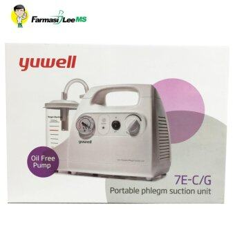 Harga Portable Phlegm Suction Pump Unit 7E-C/G (1 year warranty)