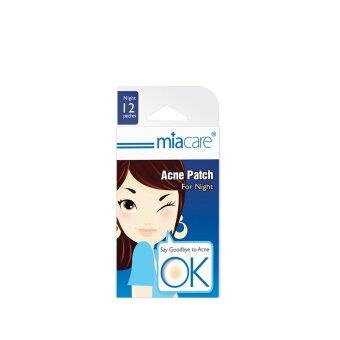 Harga MIACARE Miacare Acne Patch Night 12S