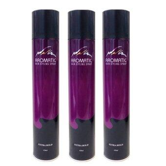 Harga Aromatic Hair Styling Spray Extra Hold 420ml (Triple offer)