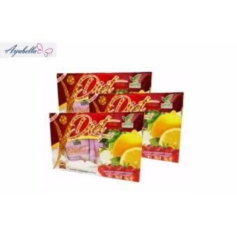 Harga Dherbs Premium Diet Gold Plus Fibre 3 Boxes