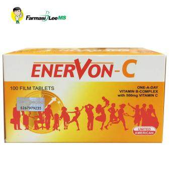 Harga Enervon C One a Day Vitamin B complex with Vitamin C 500mg 100tablets