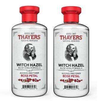 Harga Thayers Rose Petal Witch Hazel with Aloe Vera Toner 355ml (Twin Pack)
