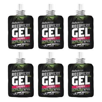 Harga BiotechUSA Recovery Gel 60g(6 packs) - Cherry