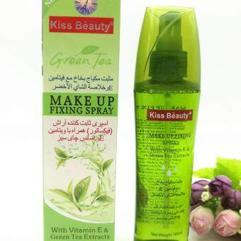 Harga Green Tea Make Up Fixing Spray by Kiss Beauty