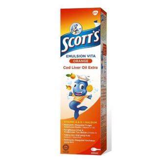Harga Scott's Emulsion Vita Orange 400mlx2
