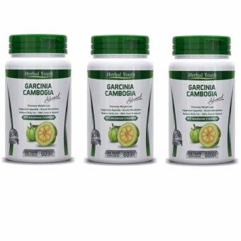 Harga 3 x Garcinia Cambogia Advanced 95% HCA Maximum Strength (180 Veggie Caps)