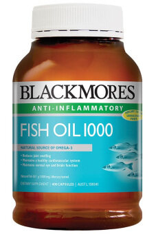 Harga OEM Blackmores Fish Oil 1000 Anti-Inflammatory (400 Capsules) from Australia