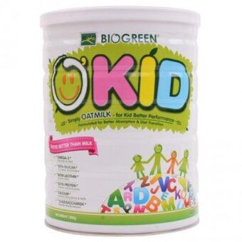Harga BIOGREEN O'Kid Oatmilk 850g