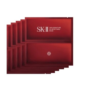 Harga SK-II Top Range Mask Trial Pack - Skin Signature 3D Redifining Mask 5 pcs