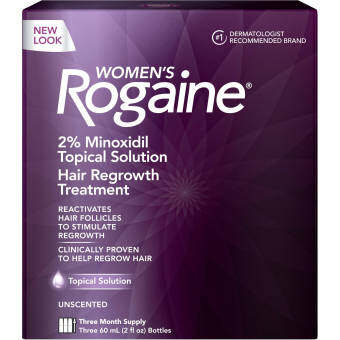Harga Rogaine® For Women Hair Regrowth Treatment 1 month supply