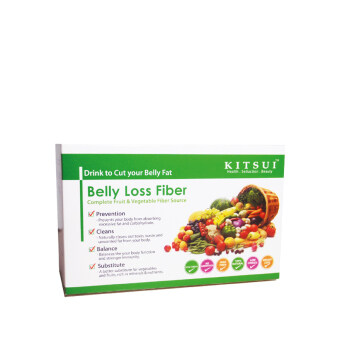 Harga KITSUI Belly Loss Fiber 15G X 15S