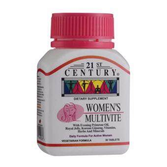 Harga 21st century Women's Multivite with Evening Primrose Oil 30 tablets
