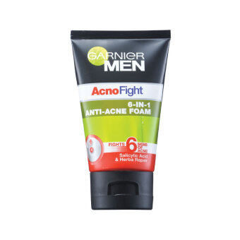 Harga GARNIER MEN Garnier Men Acnofight Acne Foam 100ML