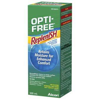Harga Alcon OPTI-FREE® Replenish® MULTI-PURPOSE 300ml CONTACT LENS SOLUTION