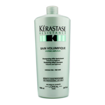 Harga Kerastase Resistance Bain Volumifique Thickening Effect Shampoo (For Fine Hair) 1000ml/34oz