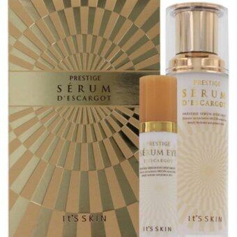 Harga It's Skin Prestige Serum Descargot 2pcs Set (Serum 40ml + Serum Eye 15ml)