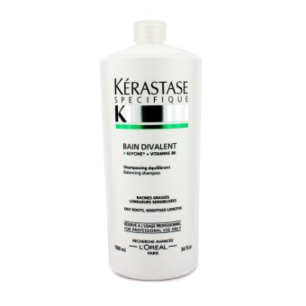 Harga Kerastase Specifique Bain Divalent Balancing Shampoo (For Oily Roots - Sensitised Lengths) 1000ml/34oz