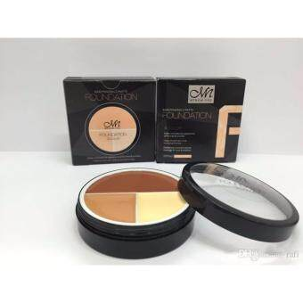 Harga MENOW PRO FOUNDATION 3 COLOUR CODE 04