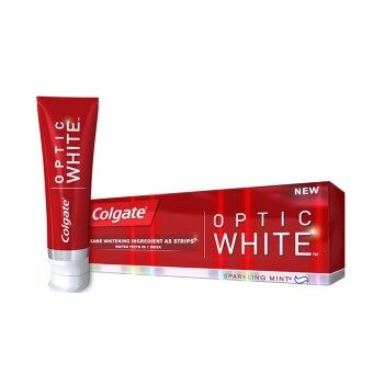 Harga Colgate Toothpaste Optic White Sparkling Mint 40g