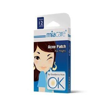 Harga Miacare Acne Patch Night 12's
