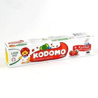 Harga KODOMO LION TOOTHPASTE STRAWBERRY 80G(2 TUBES)