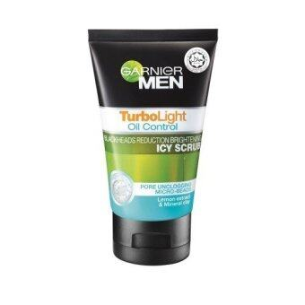 Harga GARNIER Men Turbo Light Oil Control Icy Scrub 50ml