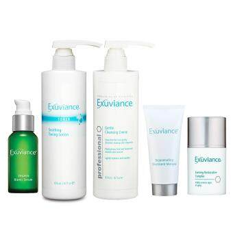 Harga Exuviance Restorative Complex + Serum + Toning Lotion + Masque + Cleansing Creme