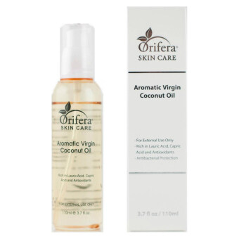 Harga Orifera Aromatic Virgin Coconut Oil Body Hair Nail Healthy Moisturizers With Pump - 110ml