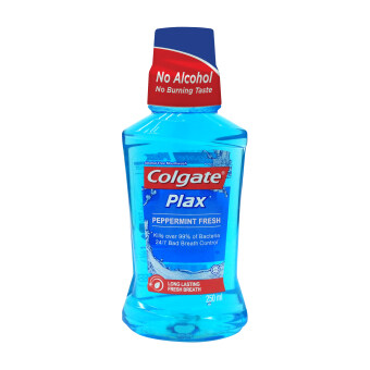 Harga Colgate Plax Peppermint Mouthwash 250ml