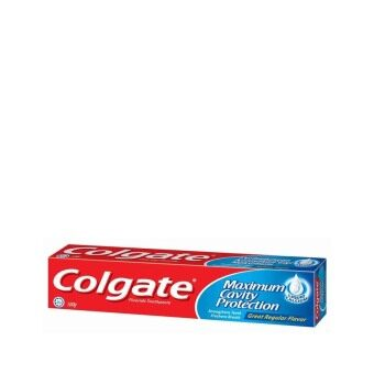 Harga COLGATE Maximum Cavity Protection Great Regular 100G